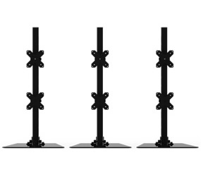 Six Monitor (Pole) Synergy Stand